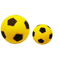 ALLIANCE FOAM NERF BALL - YELLOW / BLACK - 4 / 6 / 8 INCH SIZES AVAILABLE