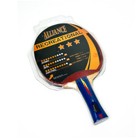 ALLIANCE TYPHOON 3 STAR RECREATIONAL TABLE TENNIS BAT (TTABTT3)