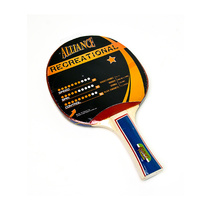 ALLIANCE TYPHOON 1 STAR RECREATIONAL TABLE TENNIS BAT (TTABTT1)