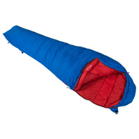 VANGO FUSE 2 DEGREES SLEEPING BAG - NUCLEAR BLUE (VSB-FUS02-L) CAMPING SLEEPING
