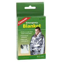 COGHLANS EMERGENCY BLANKET - ALUMINISED NON-STRETCH POLYESTER (COG 8235)