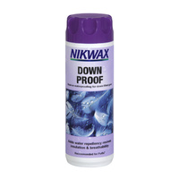 NIKWAX DOWN PROOF - 300ML BOTTLE - ADDS DURABLE WATER REPELLENCY (NIK DOW 300)