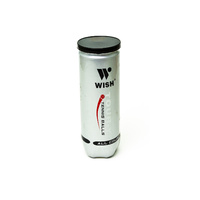 WISH TOUR-Y TRAINING TENNIS BALL - CAN OF 3 - SUITS ALL COURT SURFACES (TNWBTY)