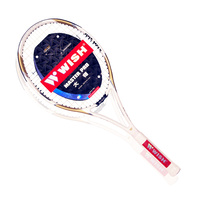 WISH MASTER PRO 850 L3 FULL GRAPHITE 1PC TENNIS RACQUET (TNWR850L3)