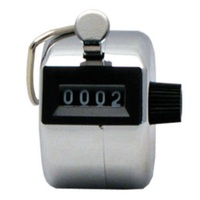 BUFFALO SPORTS HAND TALLY COUNTER - SOLID METAL CONSTRUCTION (ATH086)