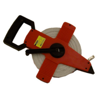 BUFFALO SPORTS OPEN / CLOSED REEL TAPE MEASURE - 30M - MULTIPLE USES (ATH060)