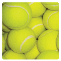 BUFFALO SPORTS YARD TENNIS BALLS - 1 DOZEN - HIGH QUALITY ENGLISH FELT (TENN030)