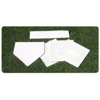 BUFFALO SPORTS HEAVY WEIGHT RUBBER BASEBALL BASE SET (BASE071)