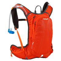 VANGO SWIFT 10L DAY SACK - FLAME - WITH 2L HYDRATION BLADDER (VRS-SW10-LRED)