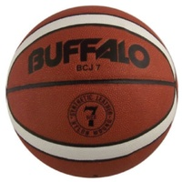 BUFFALO SPORTS COMPOSITE LEATHER BASKETBALL - SIZE 7 / 6 - JAPANESE P.U