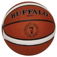 BUFFALO SPORTS BCP COMPOSITE PVC TRAINING BASKETBALL - SIZE 6 / 7