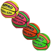 BUFFALO SPORTS HYPER LITE CELLULAR TWO TONE BASKETBALL - MULTIPLE SIZES & COLOUR