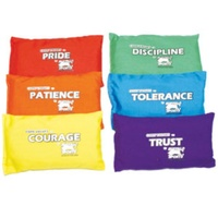 BUFFALO SPORTS SET 2 PREMIUM BEAN BAGS - 6 BEAN BAGS (CORVAL014)