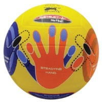 BUFFALO SPORTS CELLULAR RUBBER SKILL MASTER NETBALL - SIZE 4 / 5