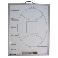 BUFFALO SPORTS AUSSIE RULES COACHES BOARD - LARGE - AFL - 50 X 60CM (COACH003)