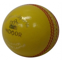BUFFALO SPORTS INDOOR CRICKET BALL - SENIOR SIZE AND WEIGHT (CRICK385)