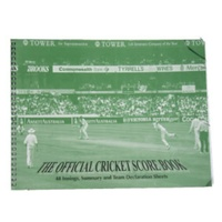 BUFFALO SPORTS OFFICIAL CRICKET SCORE BOOK - INCLUDES 48 INNINGS (CRICK108)