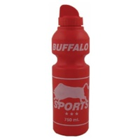 BUFFALO SPORTS SAFETY DRINK BOTTLE - 750ML - MULTIPLE COLOURS (BOTT005)