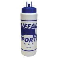 BUFFALO SPORTS SAFETY DRINK BOTTLE - 1L - MULTIPLE COLOURS (BOTT014)