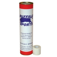 BUFFALO SPORTS COHESIVE BANDAGE BLOOD TAPE - 5CM X 4.5M - DRUM OF 6 (FIRST062)