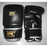 BUFFALO SPORTS DELUXE BAG MITS - GENUINE COWHIDE LEATHER (BOX204)