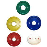 BUFFALO SPORTS COMPETITION RUBBER DISC WEIGHTS - MULTIPLE WEIGHTS