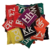 BUFFALO SPORTS LETTER BEANBAGS - LETTERS SET OF 26 (BEAN010)