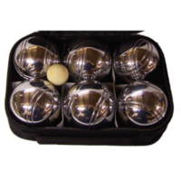 BUFFALO SPORTS CHROME BOULE SET - SET OF 6 CHROME BALLS (FUN092)