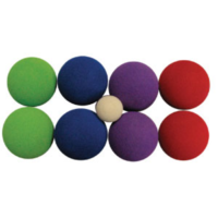 BUFFALO SPORTS FOAM BOCCE SET - CAN BE PLAYED INDOORS OR OUTDOORS (FUN145)