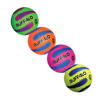 BUFFALO SPORTS HYPER CELLULAR SUPER GRIP NETBALL - SIZE 4 - MULTIPLE COLOURS