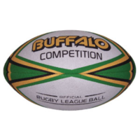 BUFFALO SPORTS COMPETITION RUGBY LEAGUE BALL - SIZE 5 (RUG003)