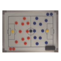 BUFFALO SPORTS MAGNETIC CARRY SOCCER COACHES BOARD - 60CM X 50CM (COACH011)