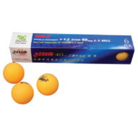 DHS DOUBLE HAPPINESS 2 STAR TABLE TENNIS BALLS - 1 DOZEN (TAB042)