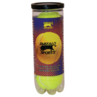 BUFFALO SPORTS TOURNAMENT TENNIS BALLS - CAN OF 3 BALLS (TENN028)