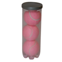 BUFFALO SPORTS PINK TENNIS BALLS - CAN OF 3 BALLS (TENN057)