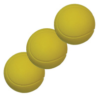 BUFFALO SPORTS JUNIOR DEVELOPMENT TENNIS BALLS - 3 BALLS (TENN069x3)