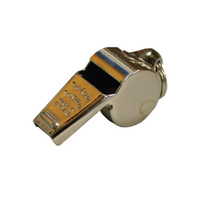 ACME SMALL THUNDERER WHISTLE W/ RING 60.5 - SOLID BRASS PEA WHISTLE (WHI018)
