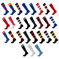 BUFFALO SPORTS FINE GAUGE SOCKS - AFL FOOTBALL RUGBY SOCCER HOCKEY - 27 COLOURS