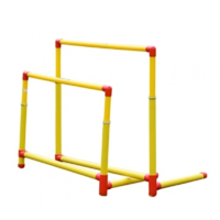 BUFFALO SPORTS HEAVY DUTY PLASTIC HURDLES - JUNIOR OR SENIOR SIZES - FOLDING LEG