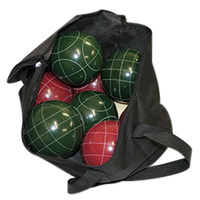 BUFFALO SPORTS DELUXE BOCCE SET - PREMIUM QUALITY MATERIAL (PLAY388)