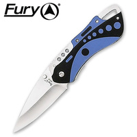 FURY WATERBUG POCKET KNIFE - BLUE - 100MM WHEN CLOSED (10318)