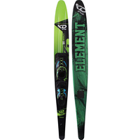 KD SKIS LITHIUM SLALOM WATER SKI & AXCESS BINDING - HYBRID DESIGN