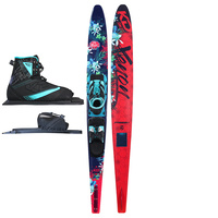 KD SKIS XENON LADIES SLALOM WATER SKI & AXCESS BINDING - PERFORMANCE TAIL