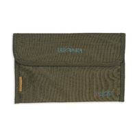 TATONKA TRAVEL FOLDER RFID - OLIVE - TRAVEL SAFETY AND PROTECTION (TAT 2956.331)