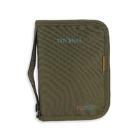TATONKA TRAVEL ZIP M RIFD - OLIVE - TRAVEL SAFETY AND PROTECTION (TAT 2958.331)