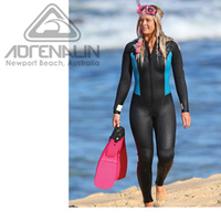 ADRENALIN DIVE STEAMER 5MM LADIES WETSUIT - COMPLETELY REVERSIBLE
