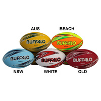 BUFFALO SPORTS RUGBY LEAGUE TEAM SUPPORTER BALL - MULTIPLE SIZES AVAILABLE
