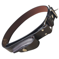 JCOE LEATHER STOCKMANS BELT WITH POUCH - AUSTRALIAN MADE