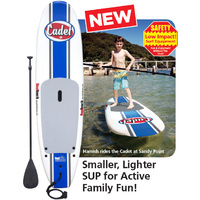 REDBACK CADET KIDS 8 FOOT JUNIOR STAND UP PADDLE BOARD + PADDLE & LEG ROPE