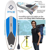 REDBACK VENTURER ADULT 10 FOOT INFLATABLE STAND UP PADDLE BOARD + ACCESSORIES